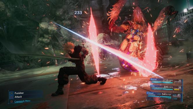 Les combats ont beau être longs, ils sont autrement plus dynamiques et captivants que dans les jeux de rôle d'époque.