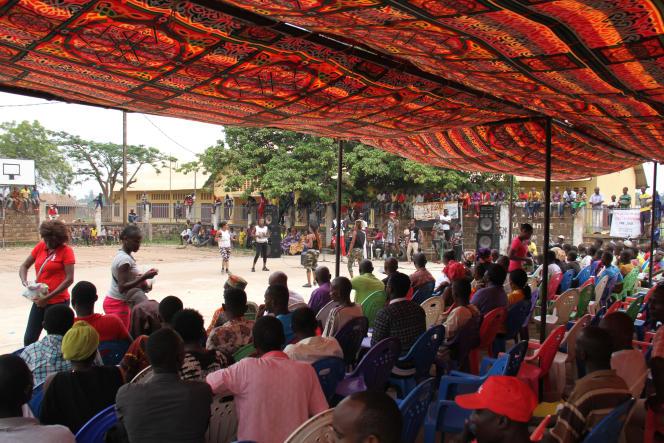 A Bangui, le 8 juin 2019, un concert a été donné sur un terrain en face de la Grande Mosquée, une initiative difficilement imaginable il y a seulement un an.