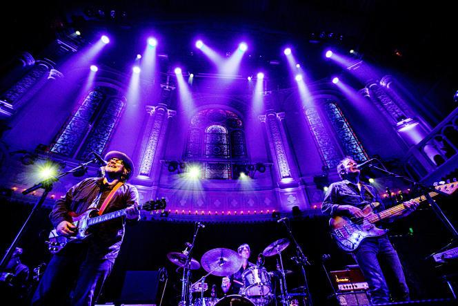 Le groupe Wilco en concert, à l'Amsterdam-Paradiso, le 15 juin.