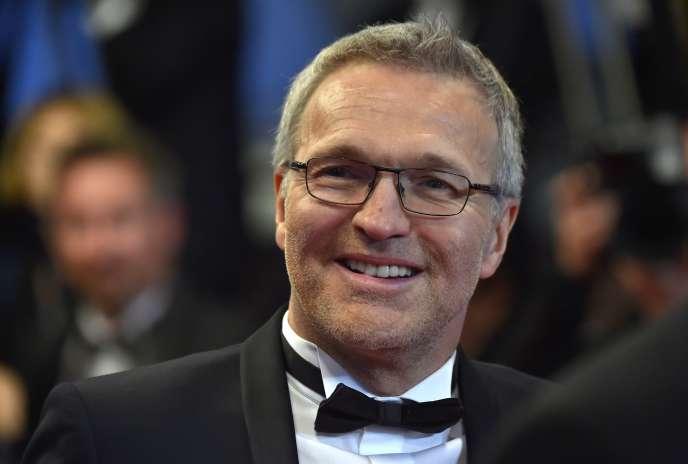 L'animateur Laurent Ruquier au 69e Festival de Cannes, le 19 mai 2016.