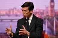Rory Stewart sur le plateau de la BBC, le 16 juin.