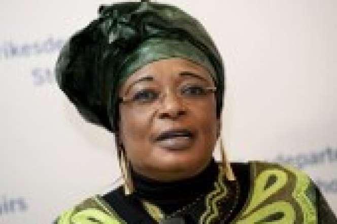 L'avocate tchadienne des droits humains Jacqueline Moudeïna.