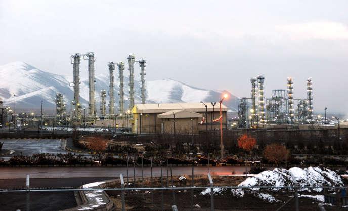 A Arak, en Iran, en 2015.