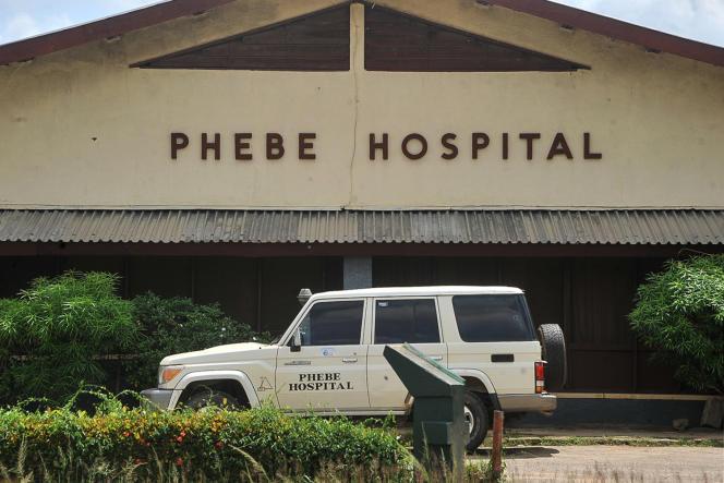 L'hôpital Phebe, àBong Town, dans le centre du Liberia, le 27 mai 2019. Faute d'avoir pu payer le carburant, les ambulances sont à l'arrêt.