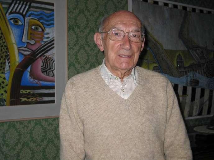 Max Querrien, en 2007.
