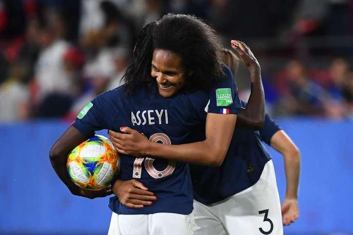 Wendie Renard, auteure du but de la victoire face au Nigeria, le 17 juin.