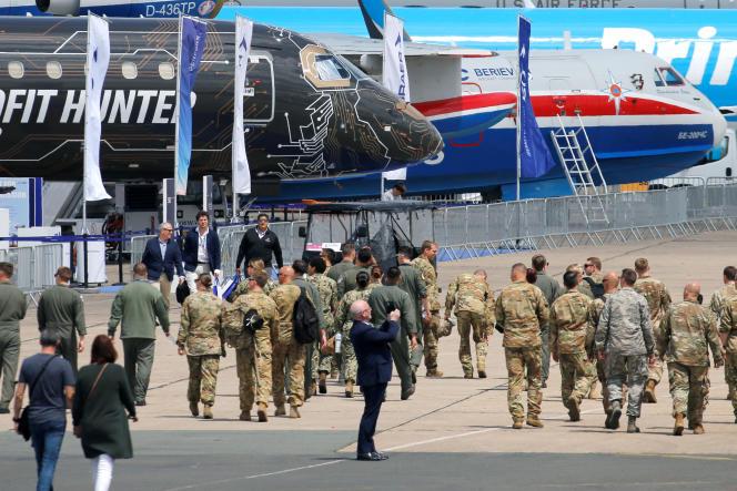 Le salon international de l'aéronautique et de l'espace du Bourget s'ouvre le 17 juin.