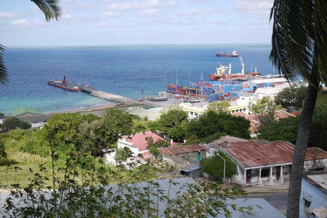 Le port de Pemba, dans la province mozambicaine de Cabo Delgado (nord), en 2017.