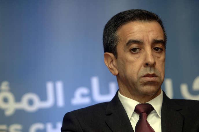 L'ancien patron des patrons algériens Ali Haddad, à Alger, en octobre 2015.
