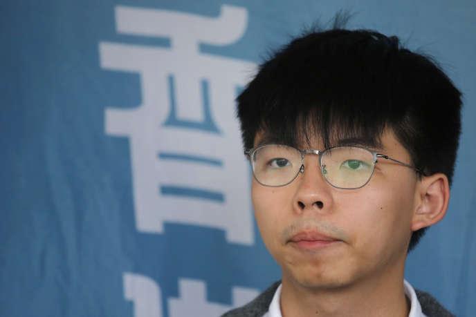 Hongkong: le militant prodémocratie Joshua Wong libéré de prison