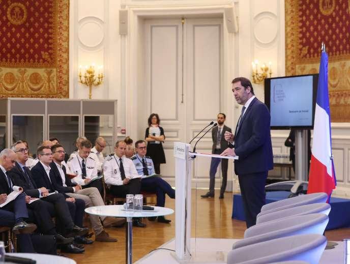 Le ministre de l'intérieur, Christophe Castaner, le 17 juin.