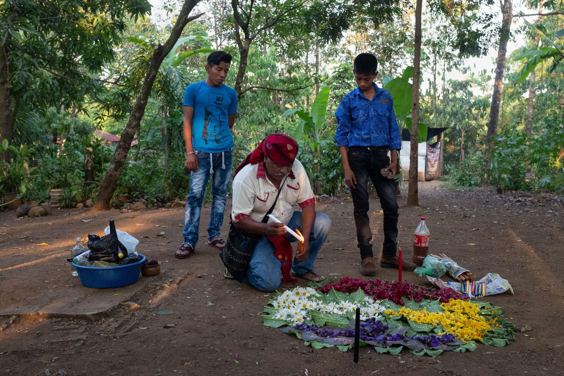 datant de l'homme guatémaltèque