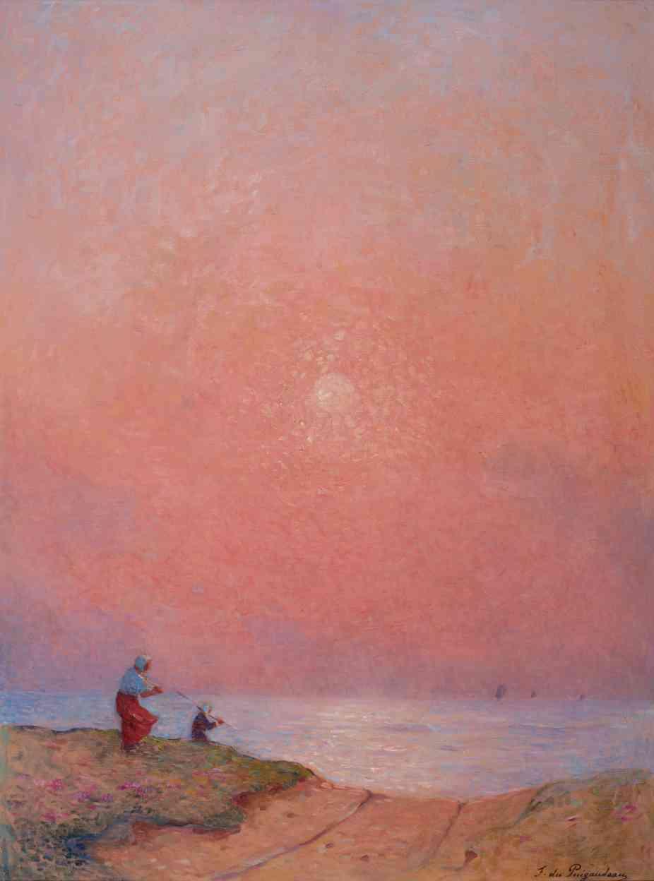 «Autodidacte, Puigaudeau se forme par le voyage et la visite des musées. Ses rencontres l'amènent à se construire un style artistique propre où scènes nocturnes et couchers de soleil occupent une part importante de sa production. Ses compositions sont souvent audacieuses et empruntent tant au pointillisme qu'à l'impressionnisme.»