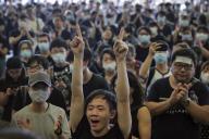 Manifestations à Hongkong, le 17 juin.