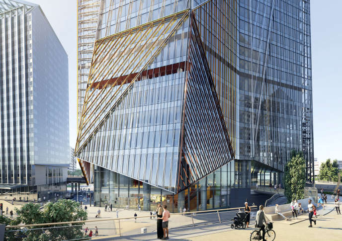 La tour Hekla à la Défense, dessinée par Jean Nouvel, se veut emblématique des gratte-ciel nouvelle génération, ouverts sur l'extérieur, connectés au quartier.