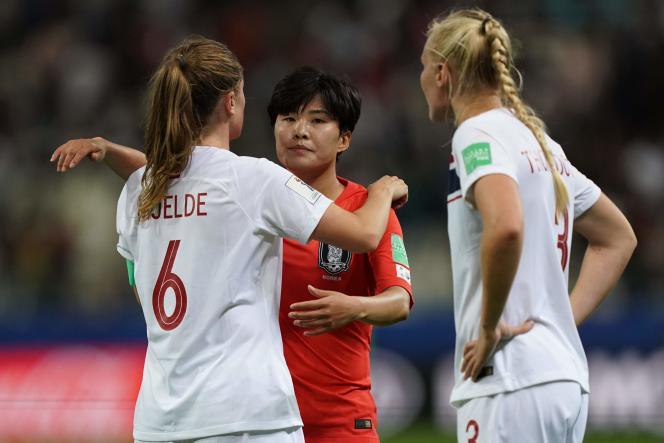 La Norvège a difficilement battu la Corée du Sud (2-1), lundi 17 juin à Reims.