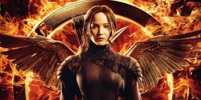 Dans la tétralogie cinématographique, l'héroïne Katniss Everdeen est interprétée par Jennifer Lawrence.