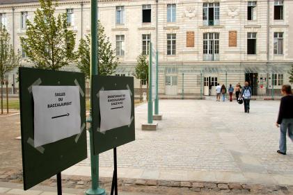 Baccalauréat au lycée Clémenceau, à Nantes