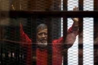 Mohamed Morsi en 2015.