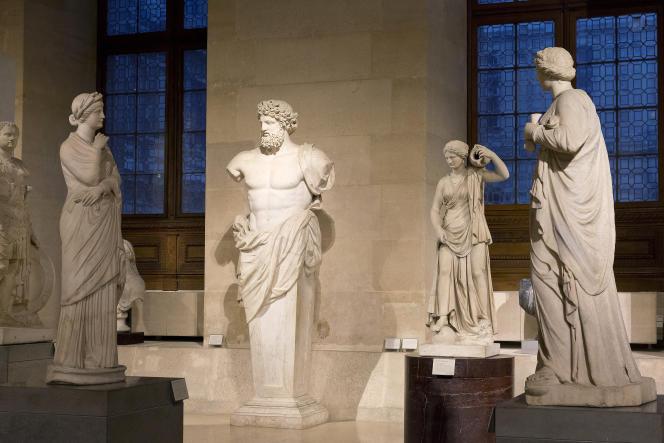 Le département des antiquités grecques, étrusques et romaines du Musée du Louvre, à Paris.