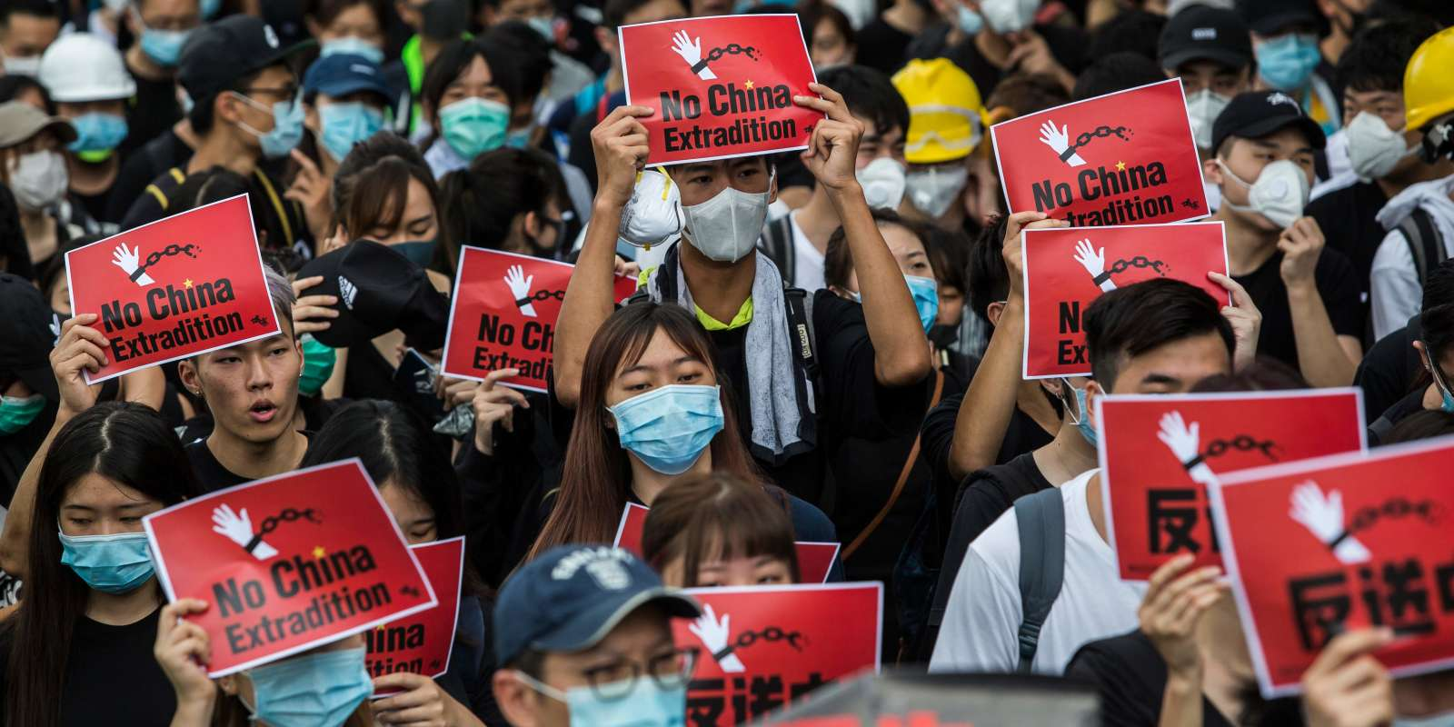 Manifestation à Hongkong, le 17 juin.