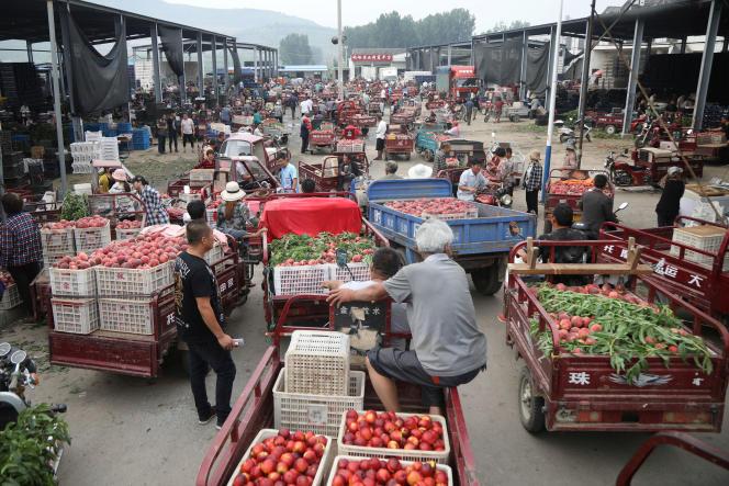 Zaozhuang, dans la province de Shandong province, en Chine, le 12 juin 2019.