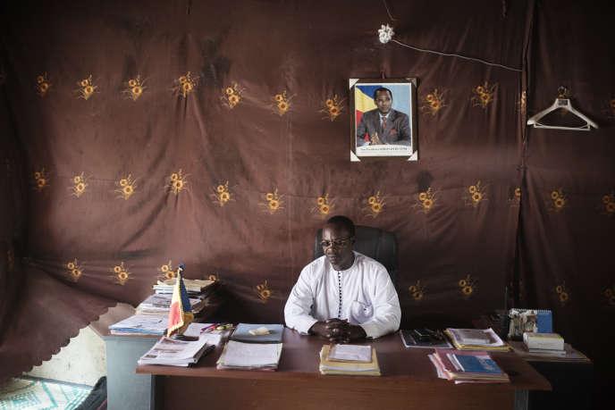 Le préfet de Baga Sola, dans l'ouest du Tchad, en mai2017.