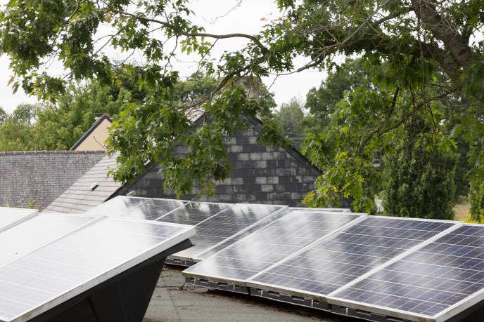 Les bâtiments publics de Langouët produisent déjà toute leur électricité.