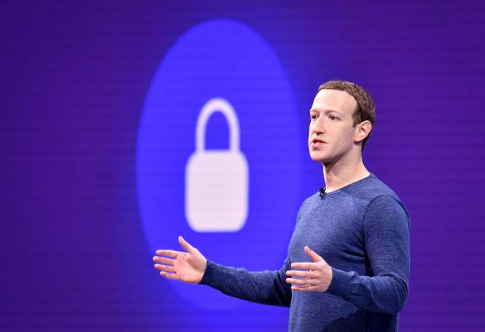 Mark Zuckerberg , à San José, en Californie, le 1er mai 2018.