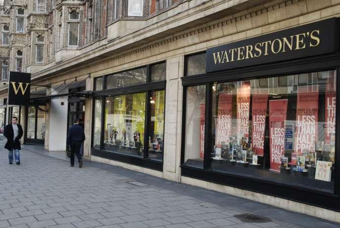 Une librairie Waterstones, sur Torrington Place, à Londres.