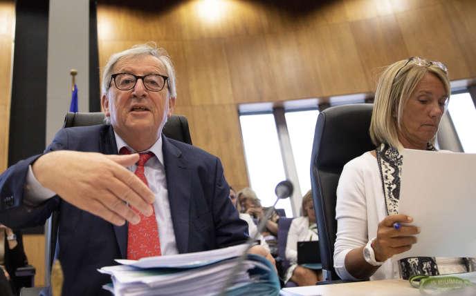 Le président de la Commission européenne, Jean-Claude Juncker, le 18 juin à Bruxelles.