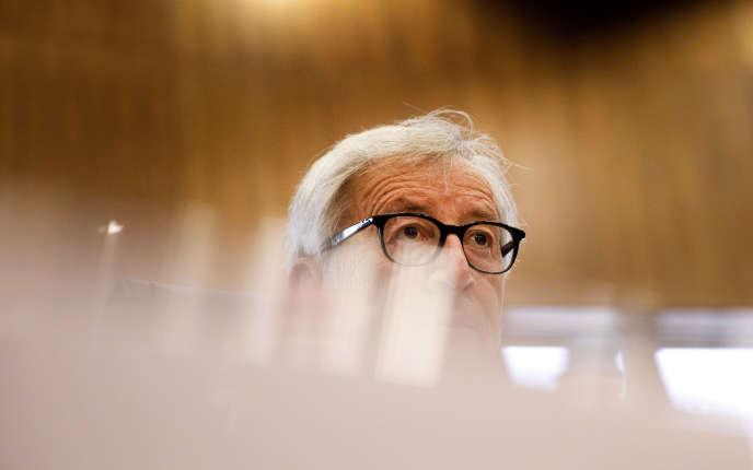 Le président de la Commission européenne Jean-Claude Juncker, à Bruxelles, le 18 mai.