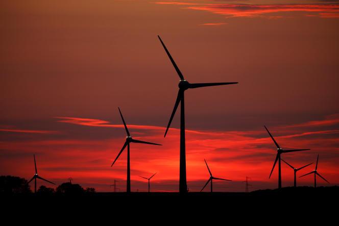 Des éoliennes, à Cagnicourt (Pas-de-Calais), près de Cambrai, le 22mai2019.