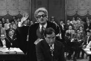 Victorio Gassmann, debout, et Ugo Tognazzi, assis, dans «Les Monstres» (1963), de Dino Risi.