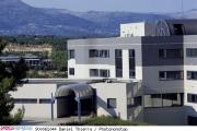 Les locaux du CNRS dans la technoploe deSophia Antipolis (Alpes-Maritimes).