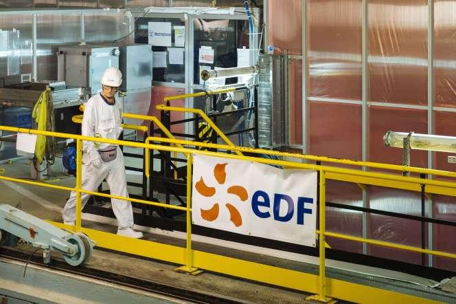 La centrale nucléaire EDF de Chooz (Ardennes), en mai 2017.