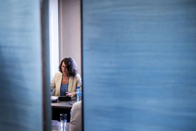 La ministre des solidarités et de la santé Agnès Buzyn, à Paris, le 14 juin.
