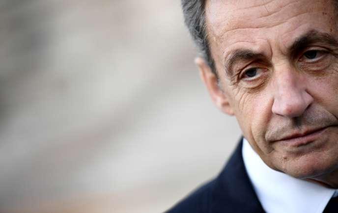 Nicolas Sarkozy, le 14 mai 2017.
