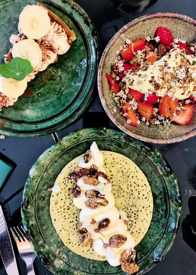 Les desserts du restaurant Yima à Marseille.
