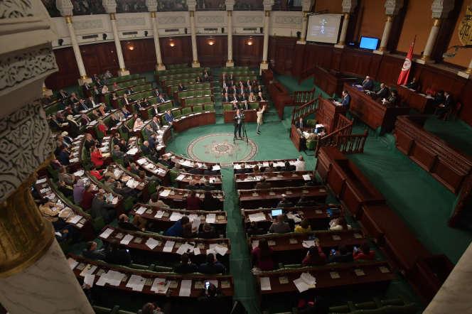 L'Assemblée des représentants du peuple, le Parlement tunisien, en novembre 2018.
