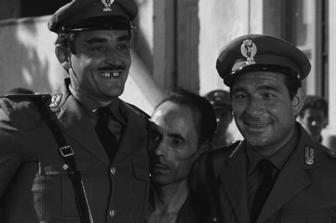 Vittorio Gassman etUgo Tognazzi dans« Les Monstres» (1963), de Dino Risi.