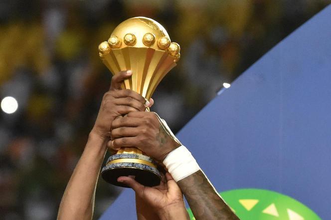 Le trophée de la Coupe d'Afrique des nations.