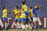 Coupe du monde féminine 2019: le Brésil en huitièmes, mais sans briller