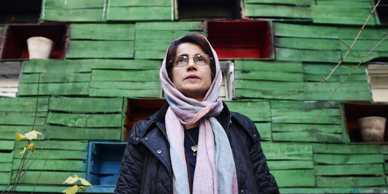 TEHRAN, IRAN - DECEMBER 9, 2014: Human rights lawyer Nasrin Sotoudeh photographed in the garden of her office on December 9, 2014 in Tehran, Iran. Nasrin Sotoudeh is a human rights lawyer who has represented imprisoned Iranian opposition activists and politicians following the disputed June 2009 Iranian presidential elections as well as prisoners sentenced to death for crimes committed when they were minors. Sotoudeh was arrested in September 2010 on charges of spreading propaganda and conspiring to harm state security and was imprisoned in solitary confinement in Evin Prison. In January 2011, Iranian authorities sentenced Sotoudeh to 11 years in prison, in addition to barring her from practicing law and from leaving the country for 20 years. An appeals court later reduced Sotoudeh's prison sentence to six years, and her ban from working as a lawyer to ten years. On 26 October 2012, Sotoudeh was announced as a co-winner of the Sakharov Prize of the European Parliament. She shared the award with Iranian film director Jafar Panahi. Sotoudeh was released on 18 September 2013 along with ten other political prisoners, including opposition leader Mohsen Aminzadeh, days before an address by Iranian President Hassan Rouhani to the United Nations. No explanation was given for her early release. (Photo by Kaveh Kazemi/Getty Images)