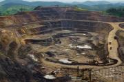 Une mine d'extraction de cobalt et de cuivre, près de Lubumbashi, en République démocratique du Congo.