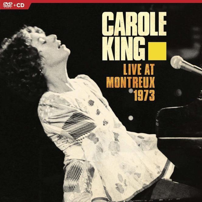 Pochette de l'album« Live at Montreux 1973», de Carole King.