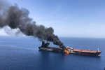 Deux pétroliers ont été attaqués au milieu du détroit d'Ormuz, le 13 juin, entraînant une montée des tensions entre l'Iran et les Etats-Unis.