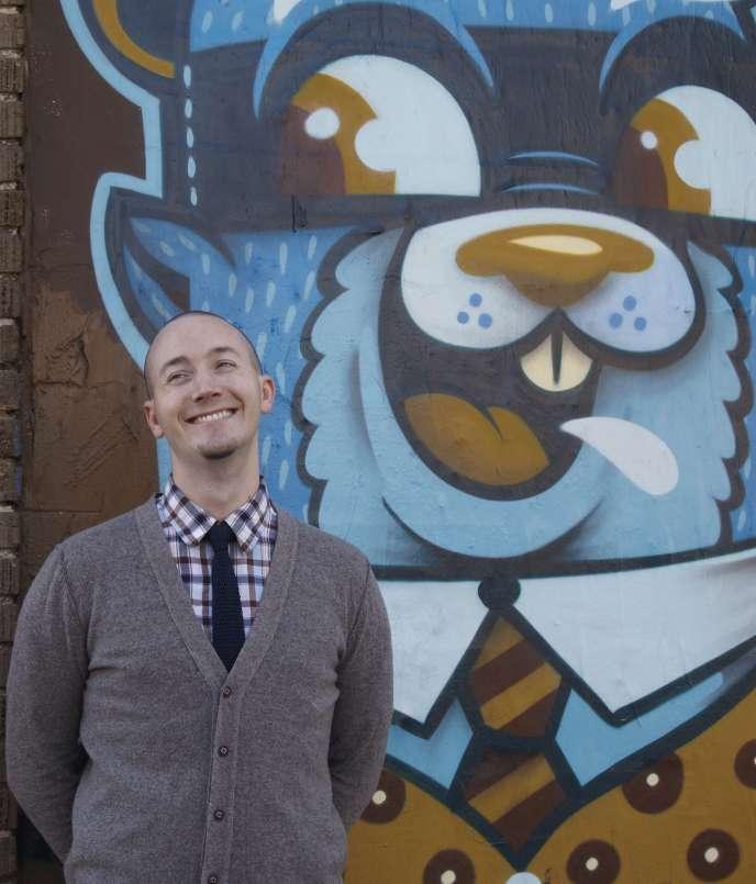 L'écrivain américain Ryan Gattis, en 2015.