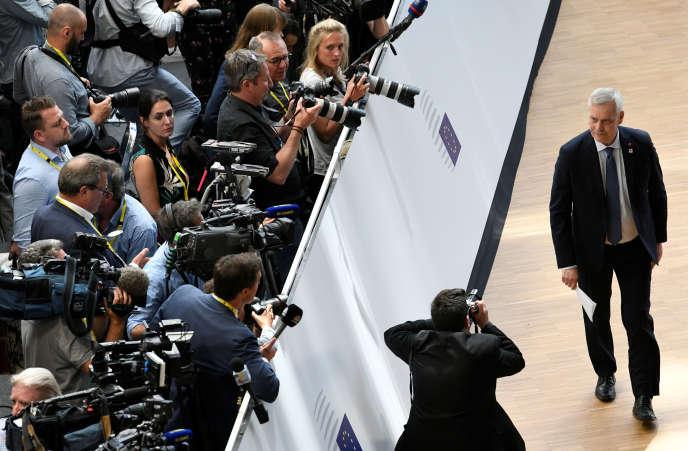 Antti Rinne, le premier ministre européen,à Bruxelles, le 20 juin.