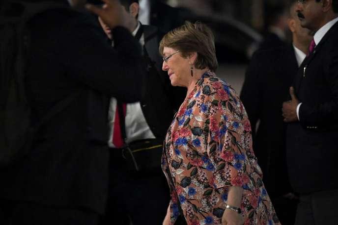 Michelle Bachelet a appelé les Etats à accorder la nationalité «aux enfants nés de leurs ressortissants» dans les zones de conflit.